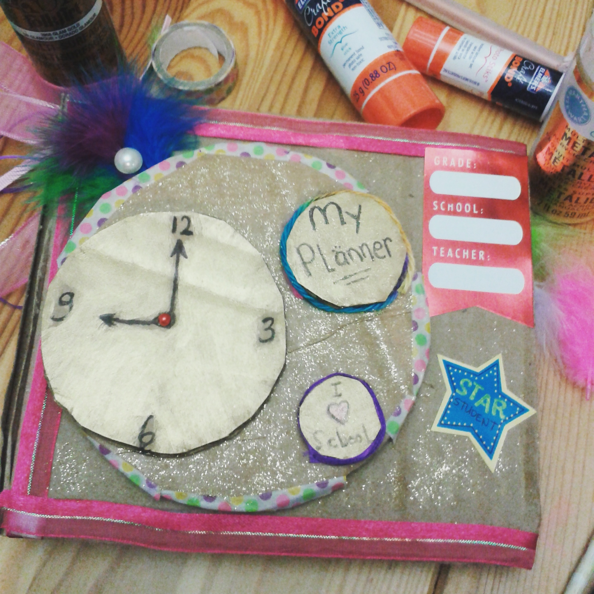Back To School Make Your Own Daily Planner Kid Museum