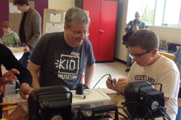 Idea Lab soldering