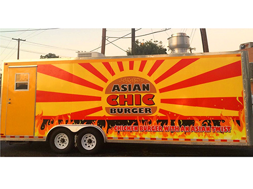 Asian Chic Burger food truck