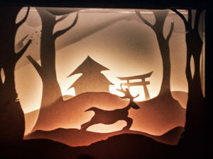 Paper Cut Lightbox