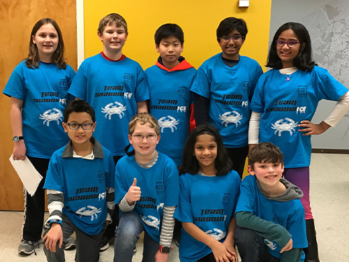 Out from Behind the Shadows: KID's FIRST LEGO League