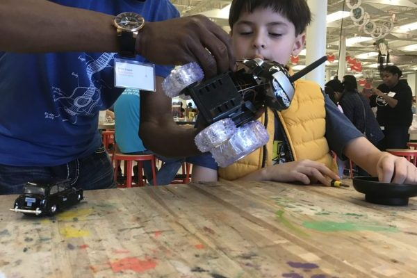 Spark Day toy take-apart