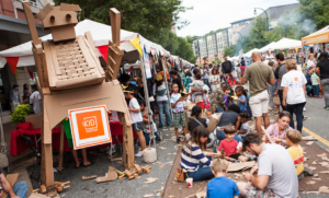 KIDfest cardboard playground